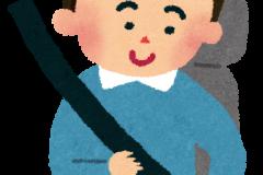 「シートベルトによる擦れ・テカリ」